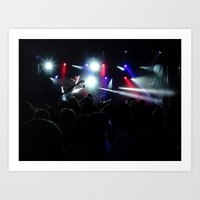 concert Art Prints featuring CONCERT by Eclectic House Of Art