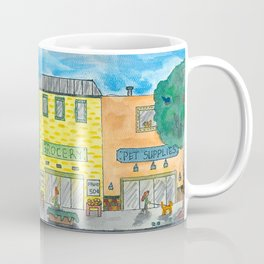 Happy Town Coffee Mug