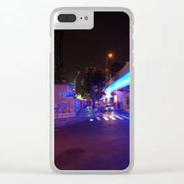 Night Time in Shanghai Clear iPhone Case
