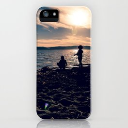 There is no place as childhood iPhone Case