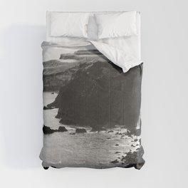 Azores coastal landscape Comforters