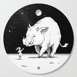 Edge of the universe: Warthog Cutting Board
