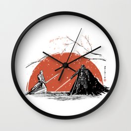 Sakura Showdown Wall Clock