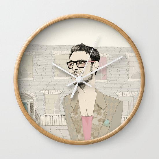 I´m hipster  Wall Clock