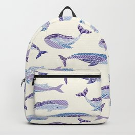 Whales Backpack