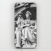 vienna iPhone & iPod Skins featuring Vienna statue by Veronika