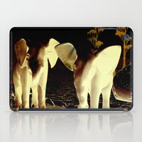 baby elephant iPad Cases featuring Baby elephant by nicky2342