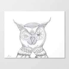 Mr. Wink The Owl Canvas Print
