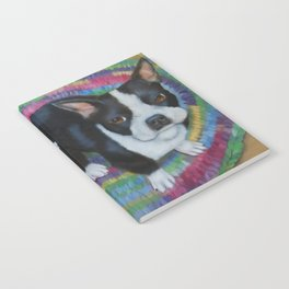 Boston Terrier and Puppies Notebook