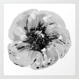 Graphic Poppy Art Print