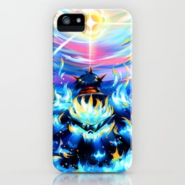 Gurren Lagann - Burning Soul iPhone Case