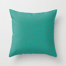 November Born - spotty pattern Throw Pillow