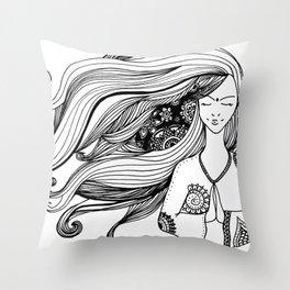 paz Throw Pillow