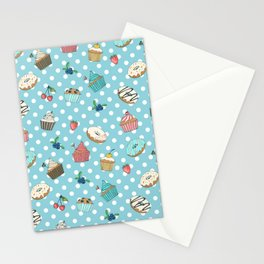 Donuts and muffins Stationery Cards