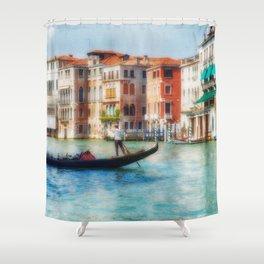 Grand Canal Gondola Shower Curtain