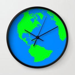 World Map / Earth / Globe Wall Clock