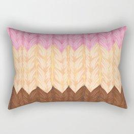 Knitted Napoleon Ice Cream Rectangular Pillow