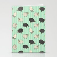 sheep Stationery Cards featuring Sheep by sheena hisiro
