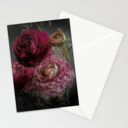 Ranunculus and Romance Stationery Cards