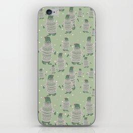 Penguin Christmas iPhone Skin