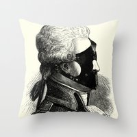 bdsm Throw Pillows featuring BDSM XXXI by DIVIDUS