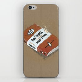 Diddie Doodle the Franz Kafka The Trail a Penguin Classic iPhone Skin