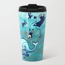 Whales are Furious! Travel Mug