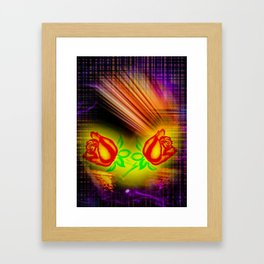 Thanks ! Framed Art Print