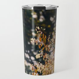 Rainy trees Travel Mug