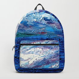 Cotton Candy Ocean Backpack