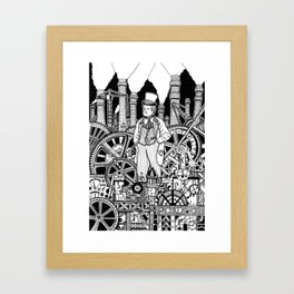 Industrialist Framed Art Print