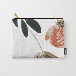 Pear Peach Orange Tree Carry-All Pouch