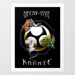 Uechi poster Art Print