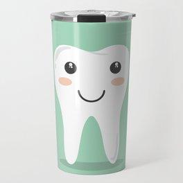 Cute Teeth Travel Mug