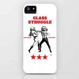 Class Struggle iPhone Case