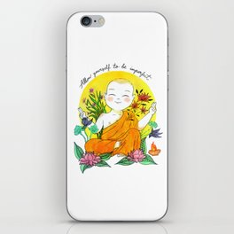 The Buddhist Monk iPhone Skin