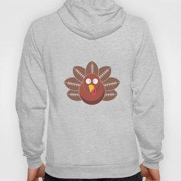 Thanksgiving Turkey Football Funny Apparel Gift Hoody