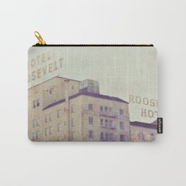 Hotel Roosevelt Hollywood photograph, Los Angeles Carry-All Pouch