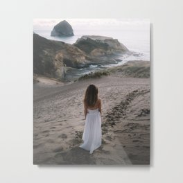 Long Walks on the Beach Metal Print