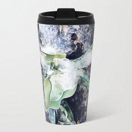 Frozen Water in Spring Travel Mug