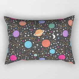 Astrology Pattern Rectangular Pillow