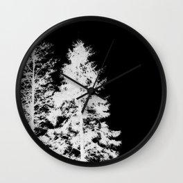 Skeleton Trees Wall Clock