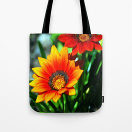 orange flower Tote Bag
