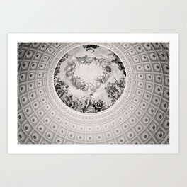 E Pluribus Unum - Capitol Rotunda Washington DC Art Print