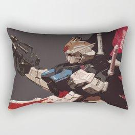 Gundam Aile Strike Digital Painting Rectangular Pillow