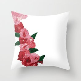 Flowers in the midst of summer Throw Pillow