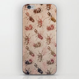 hot buggy mess persimmon brown iPhone Skin