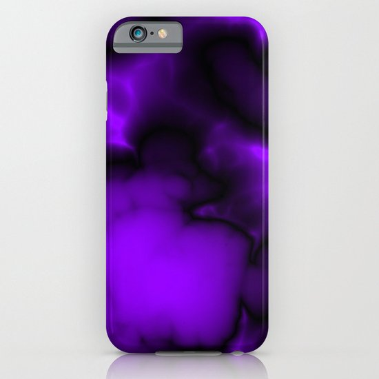 Purple and black  iPhone & iPod Case