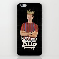notorious big iPhone & iPod Skins featuring Notorious BIG by Alpha-Tone