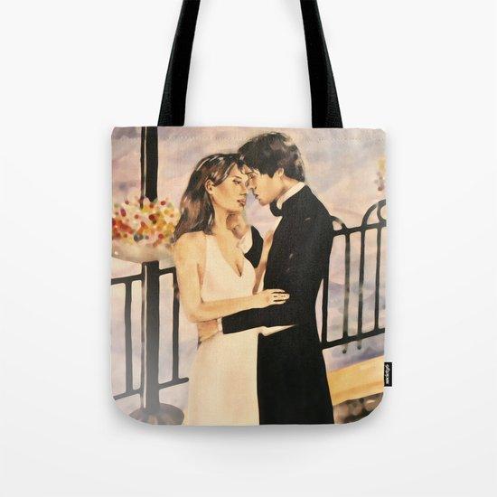 Classy couple in love Tote Bag